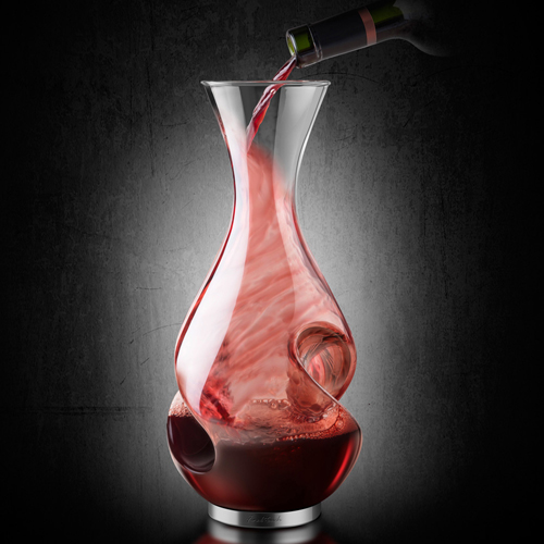 Final Touch 1 Litre Conundrum Wine Decanter
